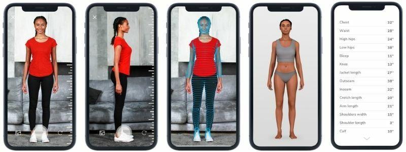 3D body scan - kamerás 3D testszkenner