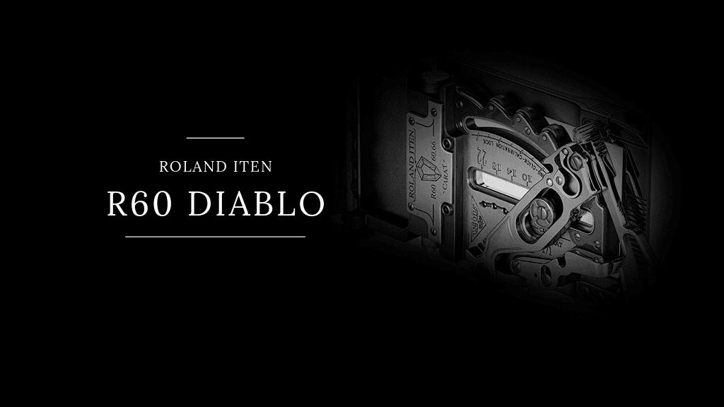 Érdekességek a világból: Roland Iten R60 Diablo luxus övcsat