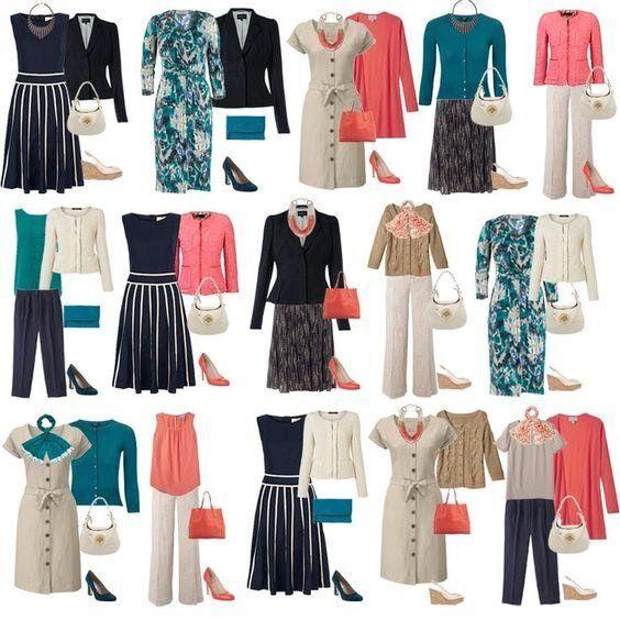kapszula gardrób - öltözködési ötletek