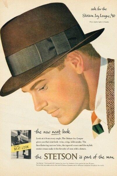 fedora kalap - 1920 férfi divat