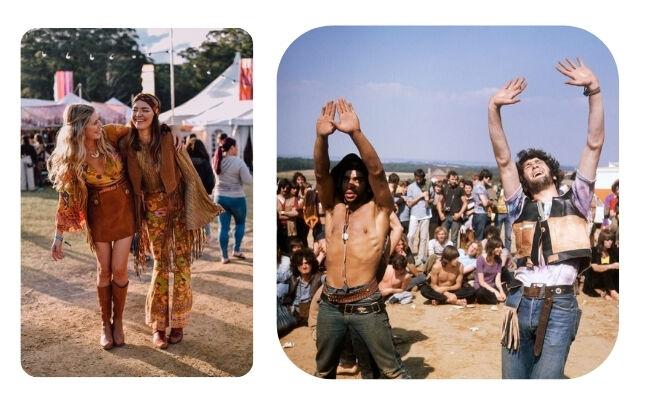 Hippik öltözködése