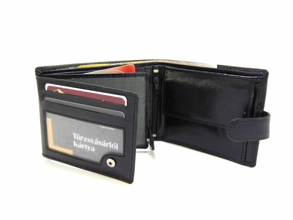 Ramsey kapcsos férfi pénztárca - fekete  6e6021bef9
