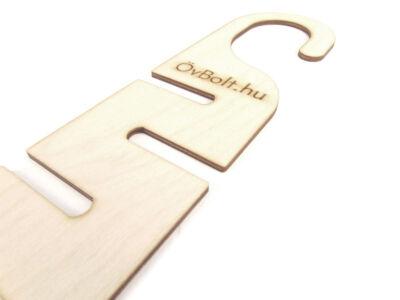 Övtartó & Nyakkendőtartó szekrénybe - natúr | B01