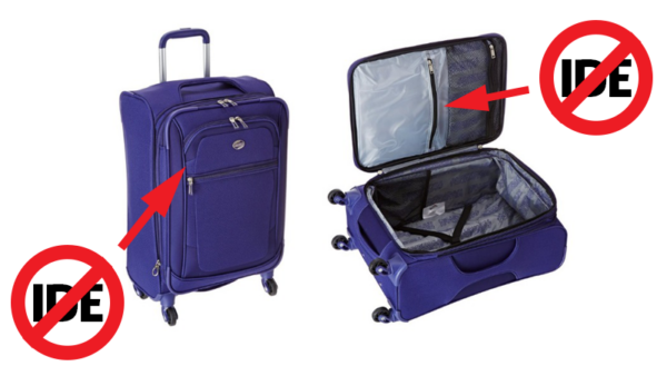 bőröndbe övet így ne tegyen