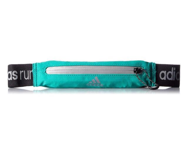 Adidas fényvisszaverős futóöv - zöld | 1506