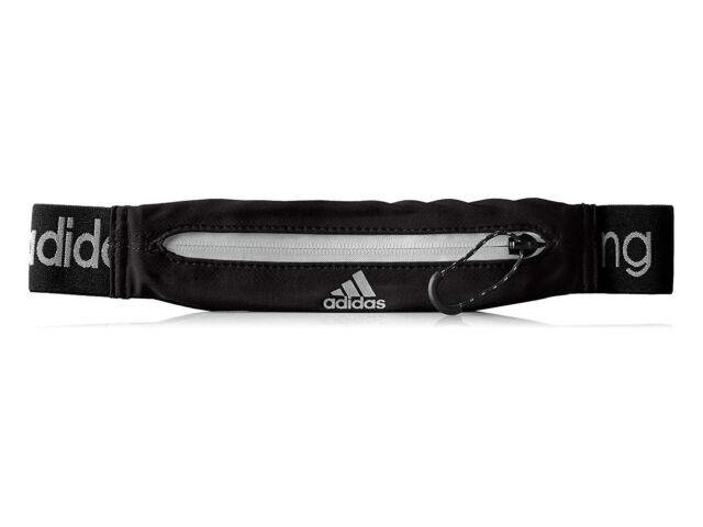 Adidas fényvisszaverős futóöv - fekete | 8843
