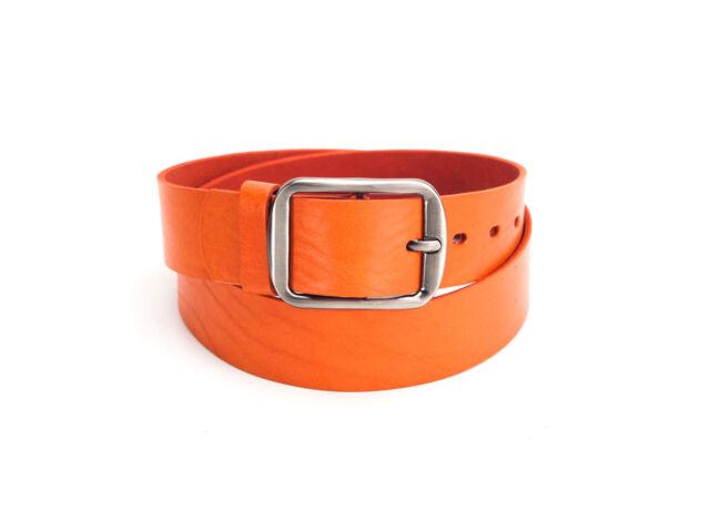 Casual női bőröv - narancs | F4005