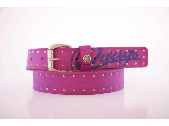 Devergo pink női bőr öv_8571