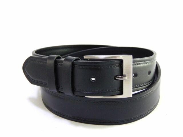 Valódi bőrből mintás nadrágszíj - fekete | FSZ4002