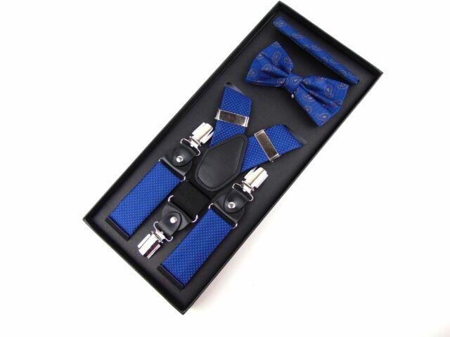 Hózentróger szett - kék mintás | GOL632