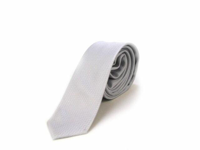 Slim Nyakkendő - világosszürke | LGRY01
