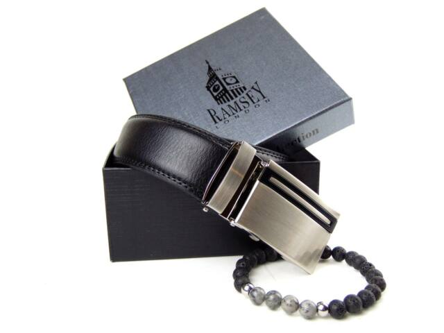 Kitartást fokozó gyöngy karkötő & racsnis öv csomagban | N002BLK-100