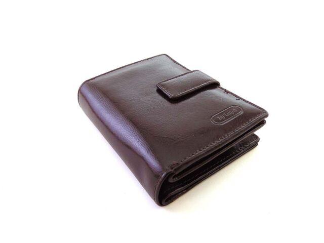 Lupo bőr pénztárca sötétbarna | 18955