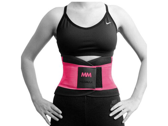 MadMax neoprén izzasztó öv fitnesz edzéshez - pink | 277