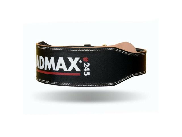 MadMax súlyemelő öv - fekete 100% bőr   245
