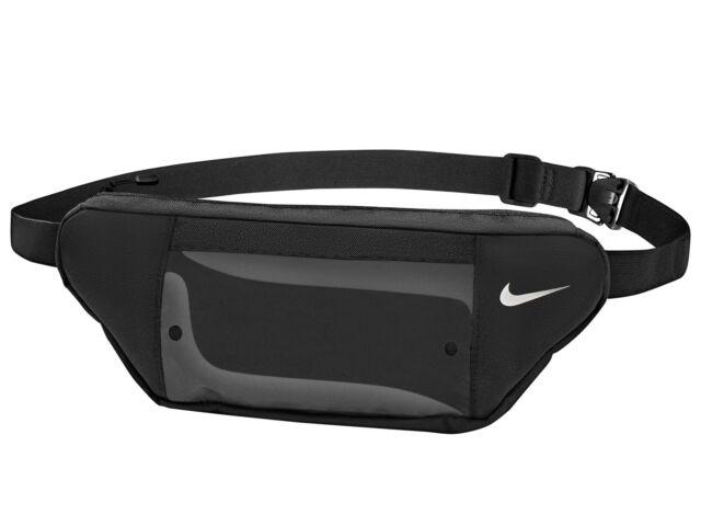 Nike futó övtáska átlátszó telefontartóval - fekete | 2650