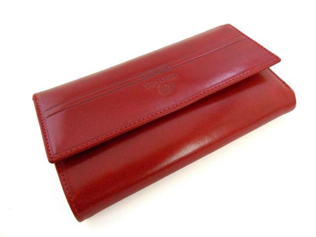 Valentini bőr brifkó - piros   563-231