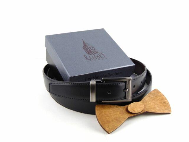 Ajándék férfiaknak - Fa csokornyakkendő & öltöny öv szettben   ZS002-R006