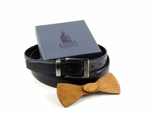 Ajándék férfiaknak - Fa csokornyakkendő & öltöny öv szettben   ZS002-YD003