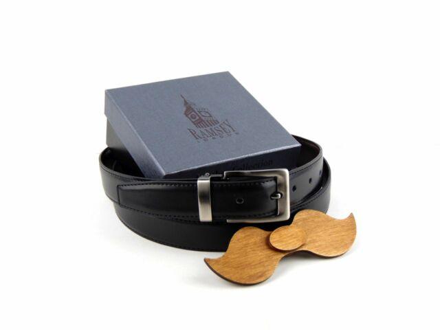 Ajándék ötlet férfiaknak - Fa csokornyakkendő & öltöny öv szettben | ZS003-R002