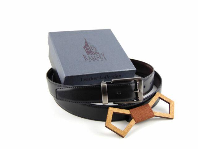 Ajándék férfiaknak - Fa csokornyakkendő & öltöny öv szettben | ZS004-R001