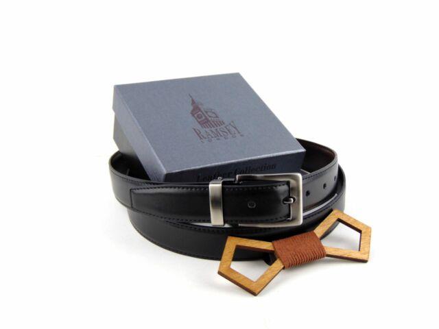 Ajándék férfiaknak - Fa csokornyakkendő & öltöny öv szettben   ZS004-R002
