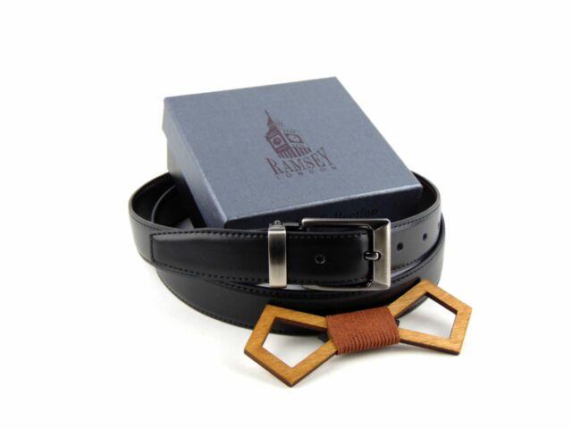 Ajándék férfiaknak - Fa csokornyakkendő & öltöny öv szettben   ZS004-YD003
