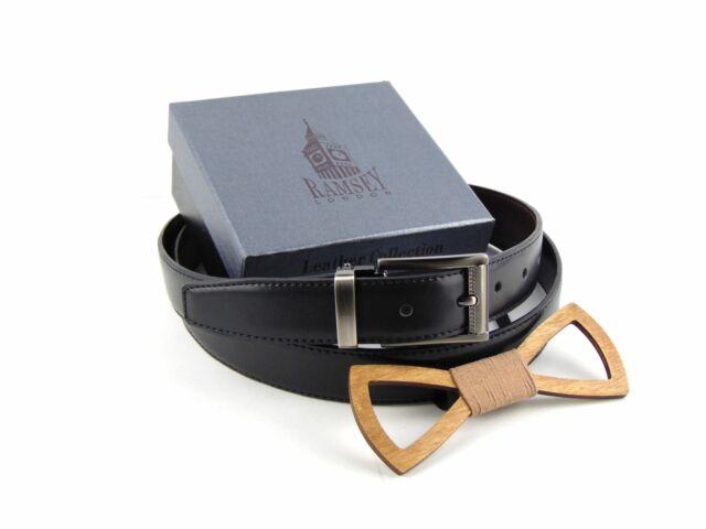 Meglepetés férfiaknak - Fa csokornyakkendő & öltöny öv csomagban | ZS005-R006