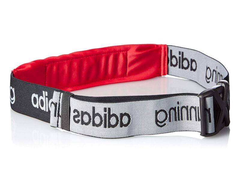 Adidas Run Belt fényvisszaverős futóöv - piros   8844