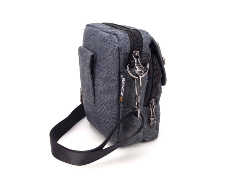 AdventureR övre fűzhető táska 2in1 - szürke | 5215