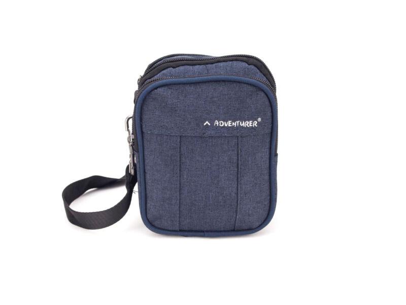 AdventureR övre húzható táska 2in1 - kék   5216