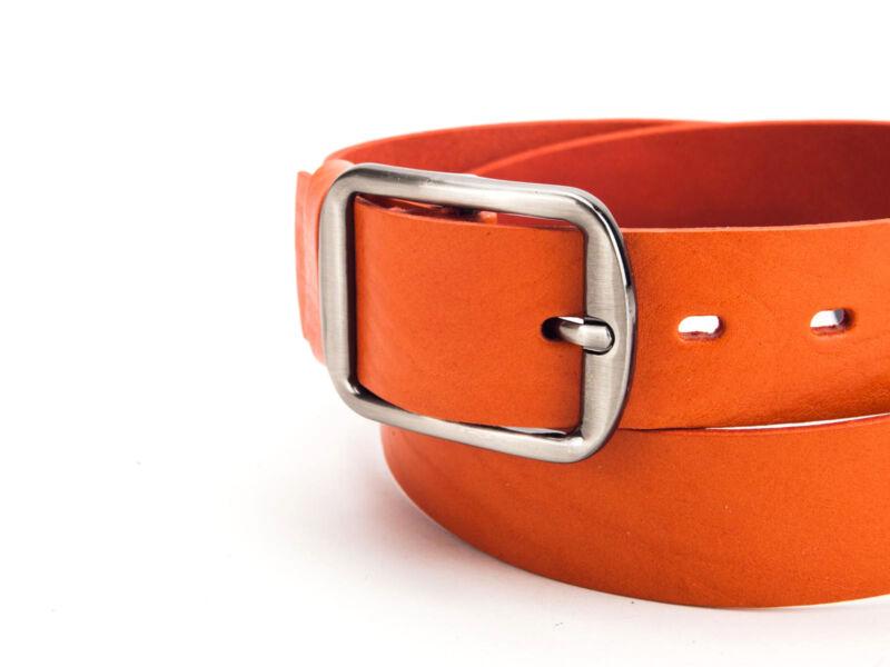 Casual női bőröv - narancs   F4005