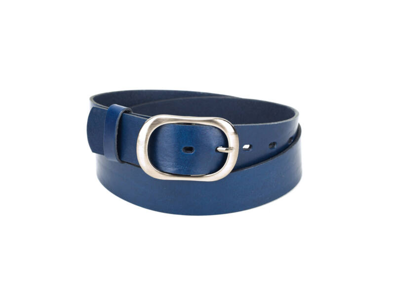 Női bőröv farmerhez - navy kék | F4011