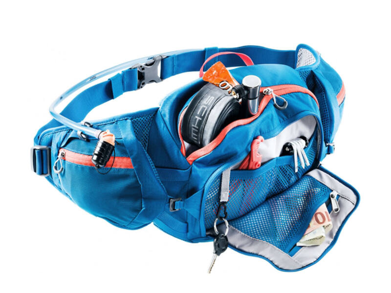 Deuter Pulse 3 sport övtáska + Streamer 1.5 L ivótasak - kék | 3935219