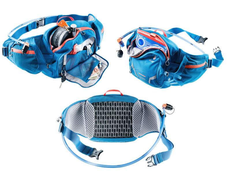 Deuter Pulse 3 sport övtáska + Streamer 1.5 L ivótasak - bordó | 3935219