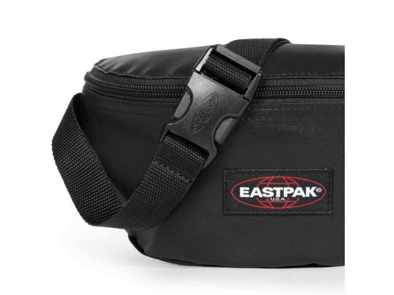 Eastpak springer kistáska - fényes fekete   EK074