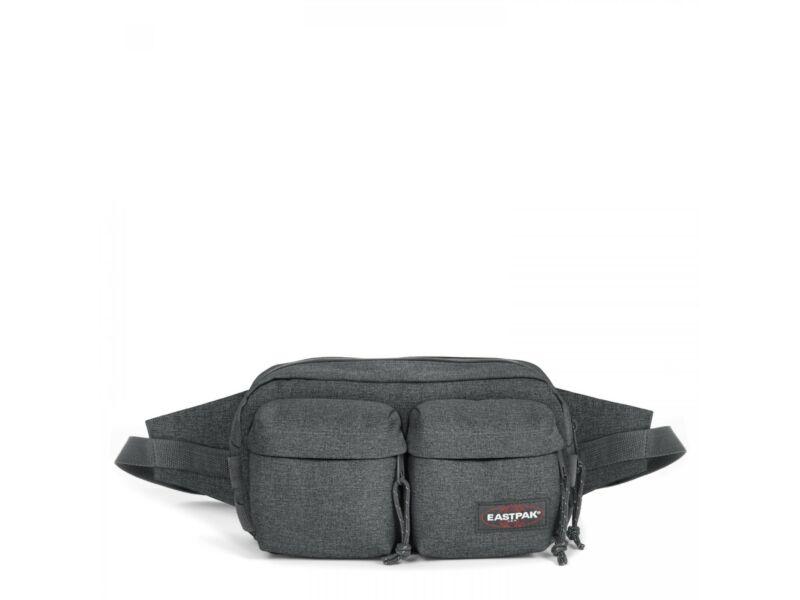 Eastpak Double táska derékra - sötétszürke   EK0A5B82