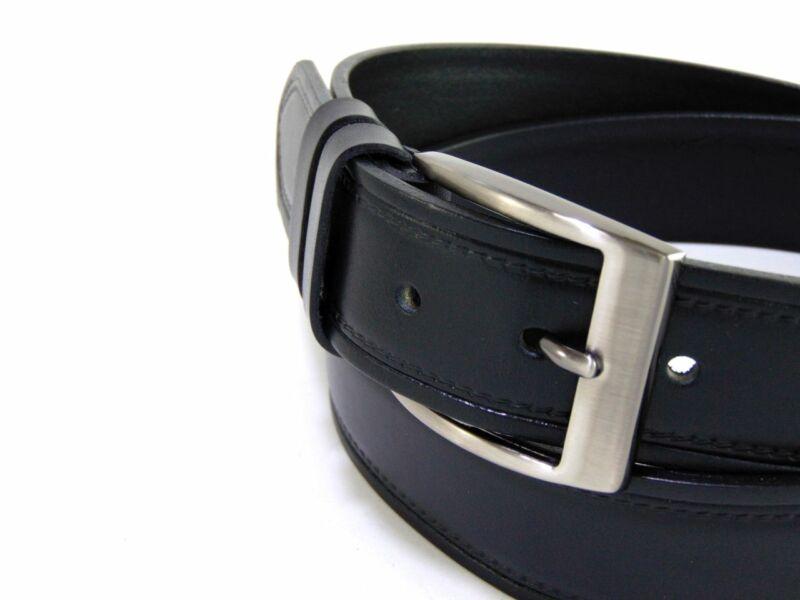Gabrillo bőr férfi nadrágszíj mintás - fekete   A136