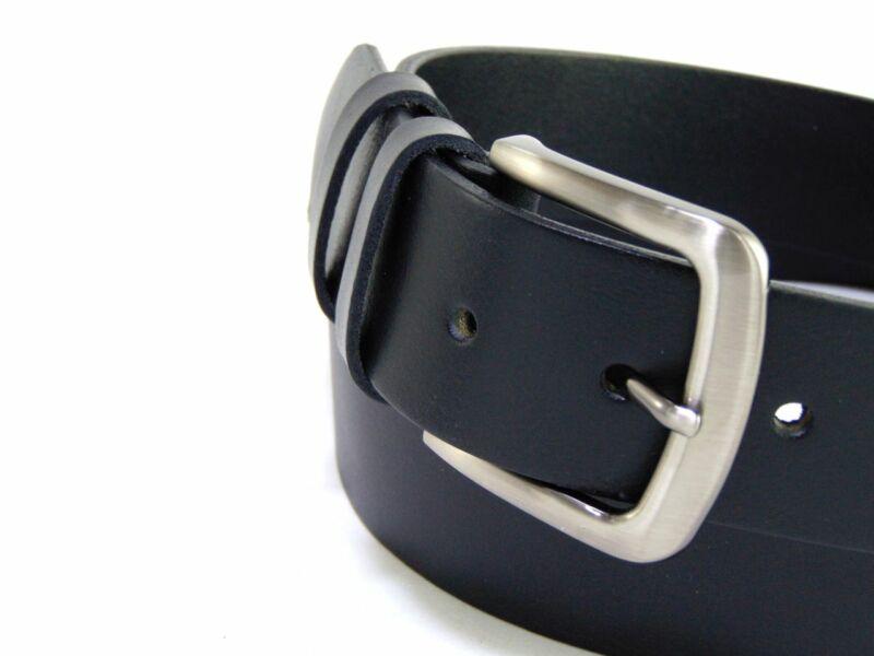 XXL marhabőr öv férfiaknak (130 - 140 - 150 - 160 cm) - fekete | B10364