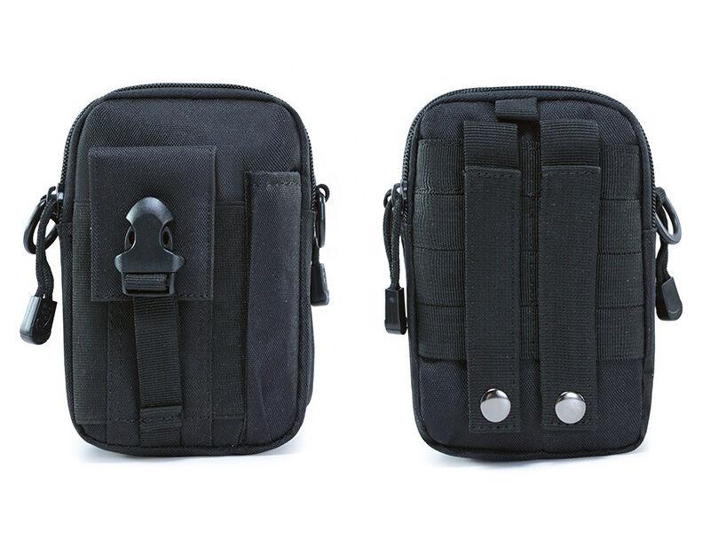 Övre húzható táska - fekete | 79816