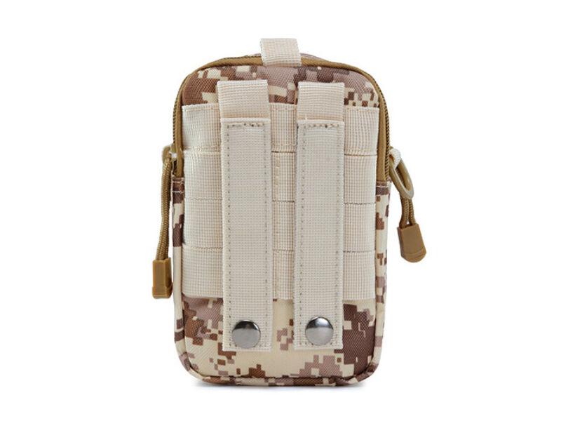 Övre húzható táska - barna digit | 79817