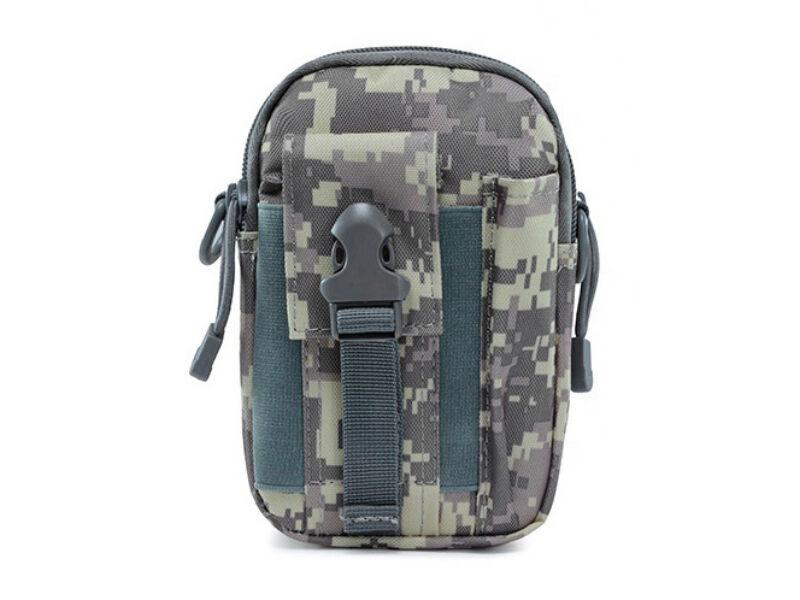 Övre húzható táska - szürke digital   79819