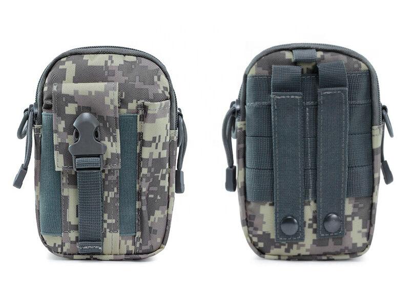 Övre húzható táska - szürke digital | 79819