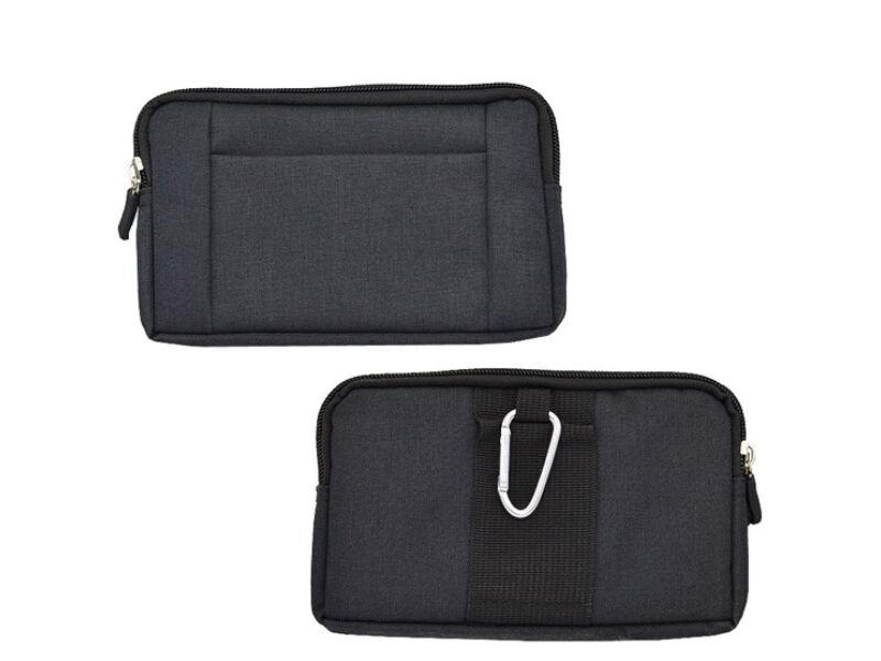 Elegáns övre húzható táska - fekete | 80767