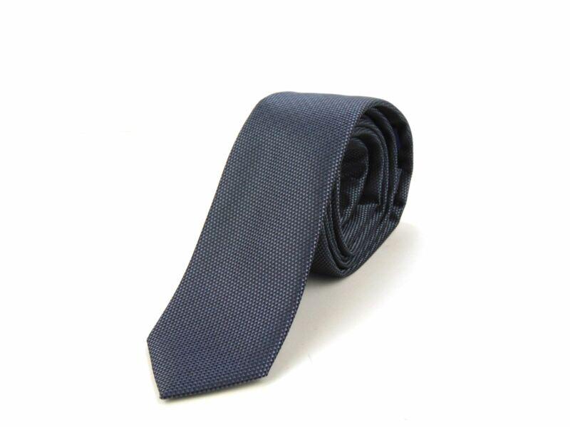 Hasznos Ajándék Férfiaknak - Acélkék Slim Nyakkendő + öv | BLU01-YD003