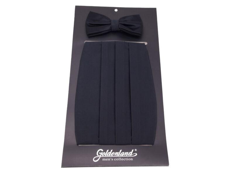 Spanyol öv csokornyakkendővel - fekete   828BLK