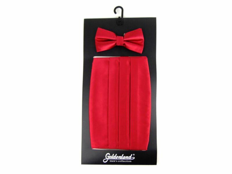 Spanyol öv csokornyakkendővel - piros   828RED