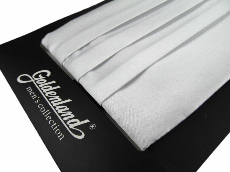 Spanyol öv csokornyakkendővel - fehér | 828WHT