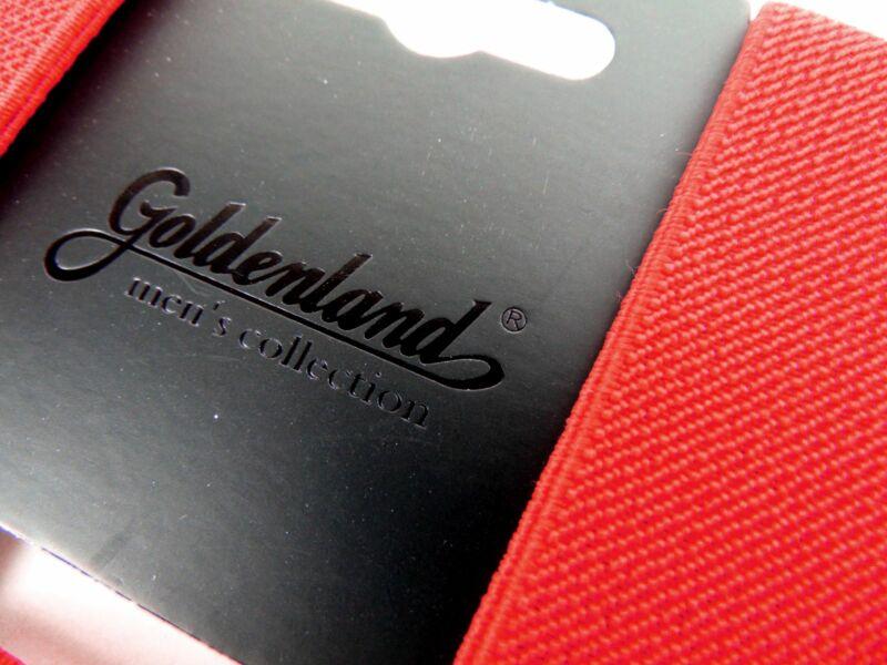 Nadrágtartó - piros   GOL01