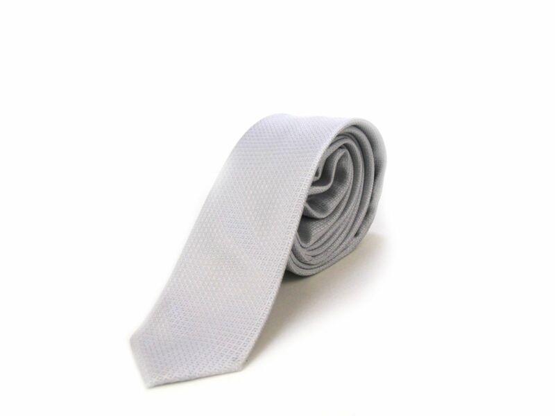 Hasznos Ajándék Férfiaknak - Világosszürke Slim Nyakkendő + öv   LGRY01-YD003